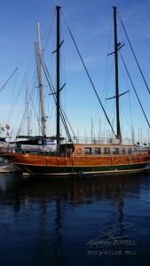 Photo d'un bateau au port de Cambrils