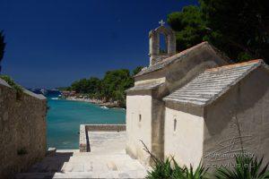 Photo d'une chapelle en Croatie