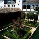 Photo des jardins du Généralife