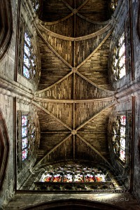 Plafond de la Basilique Saint-Michel à Bordeaux