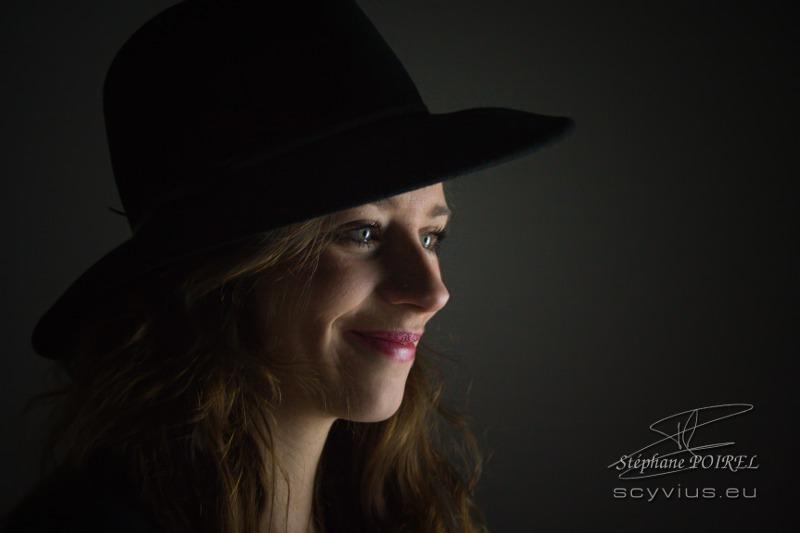 Photo portrait de profil Pauline