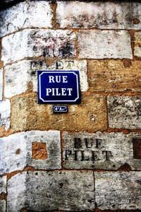 Photo texture mur à Bordeaux