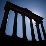 Photo Temple de Saturne à Rome