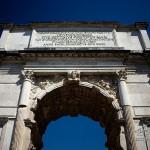Photo arc de Septime Sévère à Rome