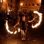 Photo spectacle à Campo dei Fiori à Rome