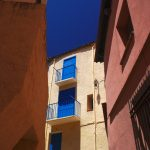 Photo façades dans Collioure