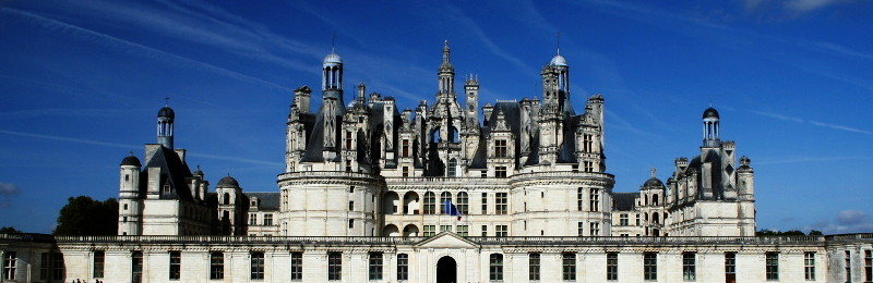 Photo du château de Chambord