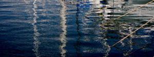 Photo reflets port de Porquerolles