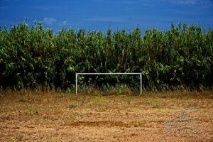 Photo terrain de foot à Porquerolles