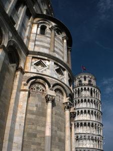 Photo cathédrale et tour de Pise