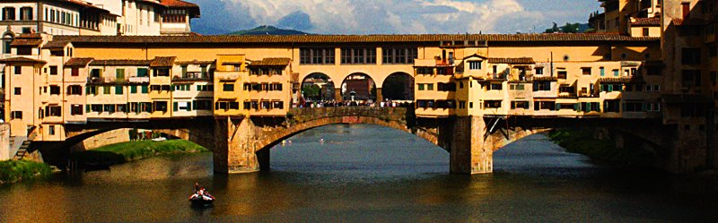 Photo ponte vecchio à Florence