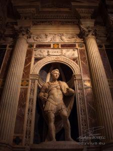 Photo détail intérieur cathédrale de Pise