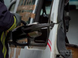 Photo pompier désincarcération