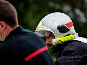 Photo pompiers en exercice