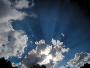 Photo soleil et nuages