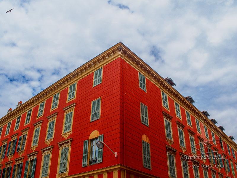 Photo façade du port de Nice