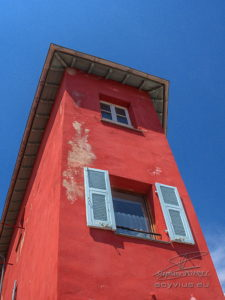 Photo façades à Menton
