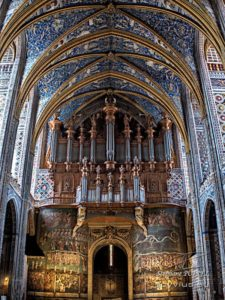 Photo orgue cathédrale Sainte-Cécile à Albi