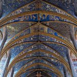 Photo plafond cathédrale Sainte-Cécile à Albi