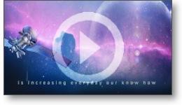 Édition d'un film vidéo dans l'industrie du spatial