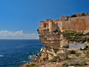 Photo falaise de Bonifacio
