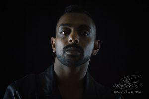 Photo portrait en studio