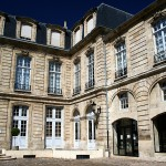 Photo à Bordeaux d'une cour intérieure