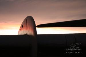 Photo caravelle aileron sur aile