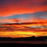 Photo coucher de soleil sur Cambrils