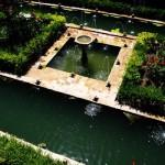 Photo des jardins du Généralife dans l'Alhambra