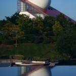 Photo reflets au Futuroscope