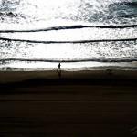 Photo soleil levant sur plage