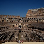 Photo intérieur Colisée à Rome