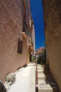 Photo ruelle dans Collioure