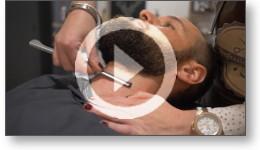 Film vidéo publicitaire pour un salon de coiffure et barbier