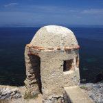 Photo du fort sur l'île de Porquerolles