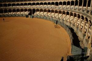 Photo des arènes de Ronda