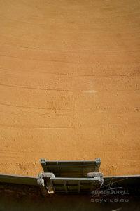 Photo détail des arènes à Ronda
