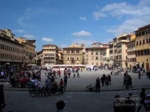 Photo place Santa Croce à Florence