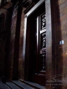 Photo porte à Florence