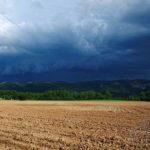 Photo orage sur la Montagne Noire
