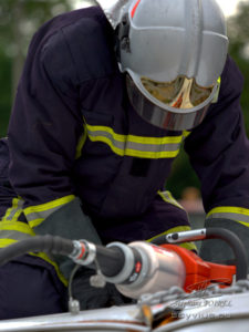 Photo pompiers désincarcération