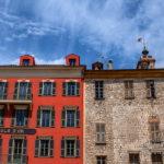 Photo façades du vieux Nice