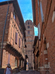 Photo cathédrale d'Albi depuis le quartier Castelviel
