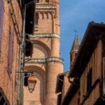Photo détail cathédrale Sainte-Cécile à Albi
