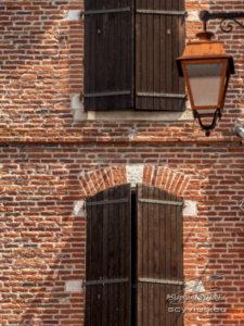 Photo façade en brique du vieux Albi