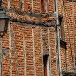 Photo façades en briques du vieil Albi
