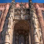 Photo parvis cathédrale Sainte-Cécile à Albi