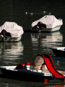 photo bateaux au lac d'Annecy