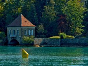 photo du lac d'Annecy